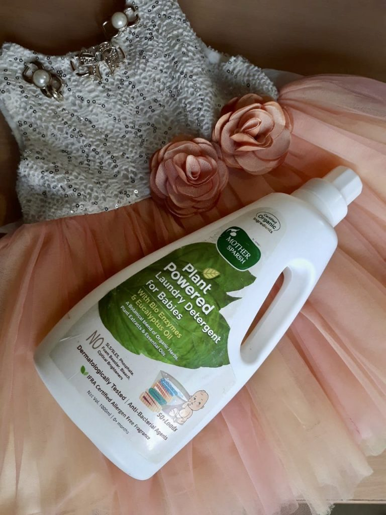 Mother Sparsh Laundry detergent for babies